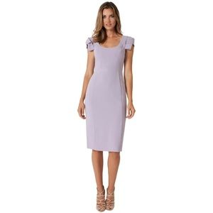 Black Halo Amelie Shift Dress Violet Vista